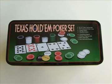 Poker Texas hold em poker set 200 poker čipova