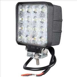 LED Reflektor 48W 12-24V  6500K