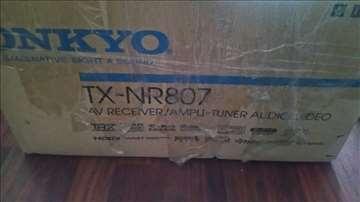 Onkyo TX-NR 807 receiver - novo, uvoz Kanada