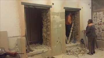 Razbijanje betona,sečenje betona,rušenje,bušenje