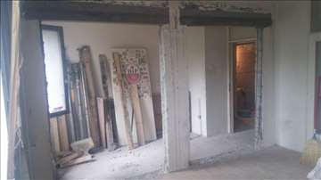Razbijanje betona, sečenje betona, rušenje