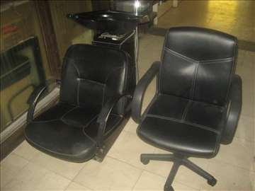 HITNO samponjera +polovna frizerska stolica nova