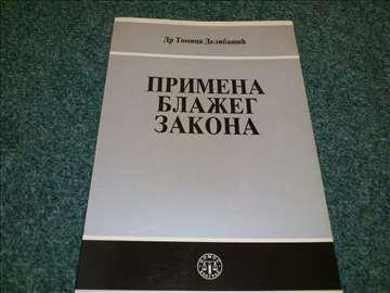 Primena blažeg zakona - Tomica Delibašić