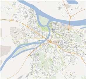 Vektorska mapa Beograda