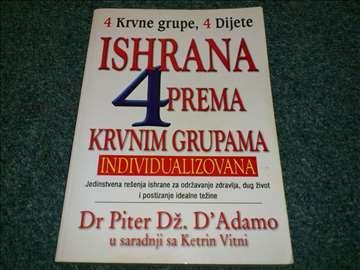 Ishrana prema krvnim grupama - Piter Dz. D`Adamo