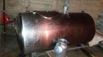 Rashladni uređaj za mleko