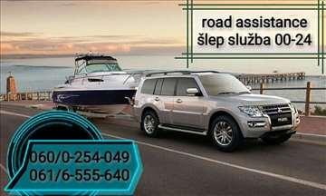 Šlep služba Road assistance 00-24