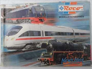 Katalog Roco 2001. god. , 72 strana, nemacki