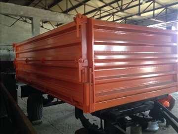 Traktorska prikolica nosivosti 7t, novo