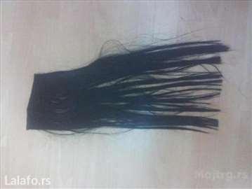 Trese za nadogradnju kose, povoljnija/brza izrada
