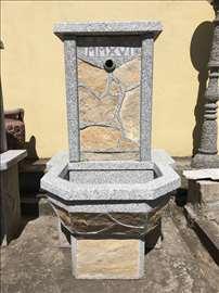 Betonske i kamene česme (ručna izrada)