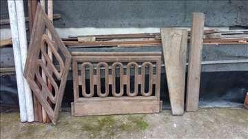 Hrastove drvene stepenice