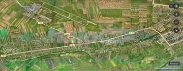 Novi Surčin-Plac, put za aerodrom