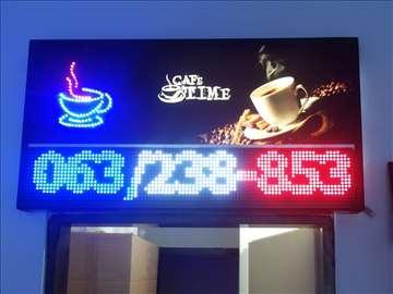 Svetleće LED reklame-display