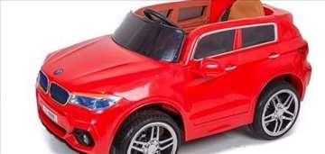 BMW X7 na akumulator 12V za decu crveni