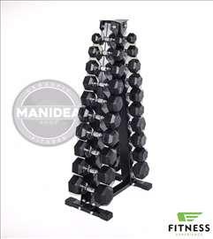 Hex bučice od 1 do 40 kg