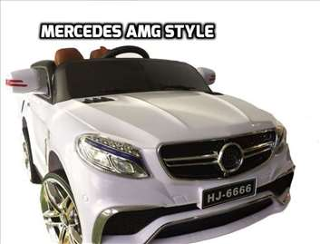 Mercedes AMG Style na akumulator 12V za decu beli
