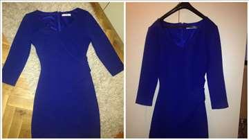 Prelepa Mango kraljevsko plava haljina