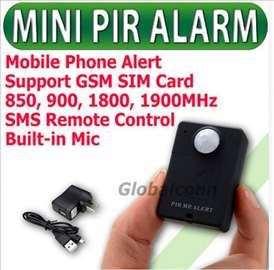 Špijun GSM prisluškivač, audio i senzor pokret