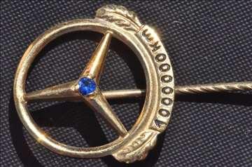 Zlatni znak Mercedesa