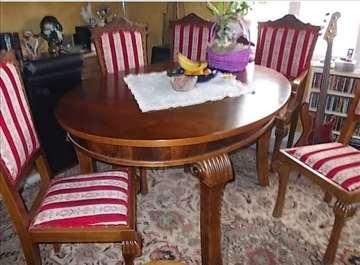 Ovalni sto