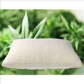 Jastuk Cannabia Soft - sa vlaknima konoplje