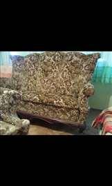 Stilski nameštaj- dvosed i dve fotelje