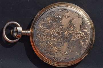 Dzepni zlatni sat 14 kt