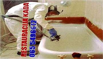Plastificiranje i Emajliranje kada za kupanje