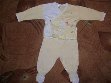 Žuti komplet za bebe- 3 dela sl.12