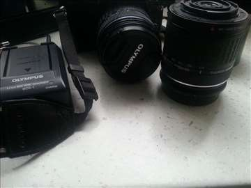 Olympus E 420 digitalni fotoaparat kompletna oprem