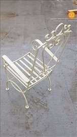 Stolice za baštu, kovano gvožđe