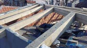 Krovovi popravka, izgradnja