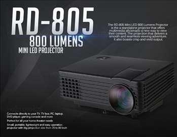 Projektor led HDMI 1080P-800 lumena