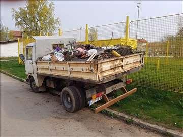 Prevoz šuta, zemlje na deponiju Niš prevoz stvari
