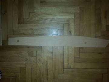 Drveni lenjir za krojenje, nov
