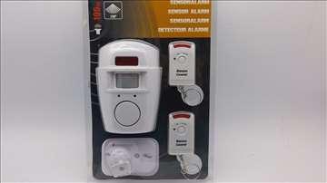 Alarm sa senzorom i daljinski