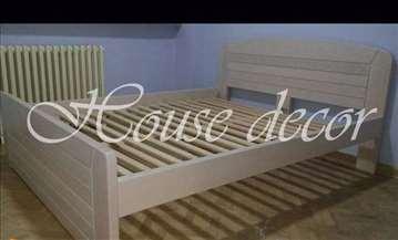 Bracni krevet KAN beli bajc 160x200