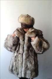 Bunda od srebrne polarne lisice