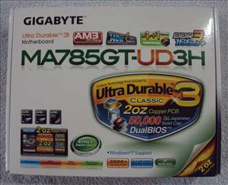 Gigabyte Ploca 140w.DDR3 1666 Windows 10 (NOVO)