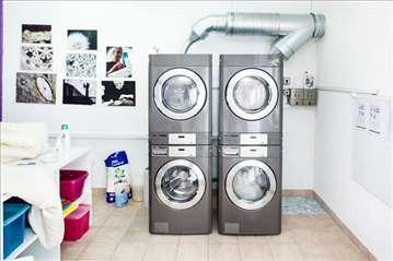 Profesionalne mašine za pranje i sušenje LG
