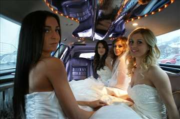 Unajmite limuzinu za svadbu-vjenčanje