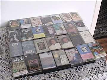 Audio kasete stranih izvođača