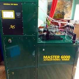 Novo Mašina za testiranje dizni i pumpi Master 600