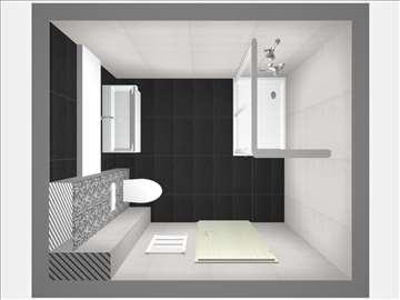Idejno rešenje Vašeg kupatila