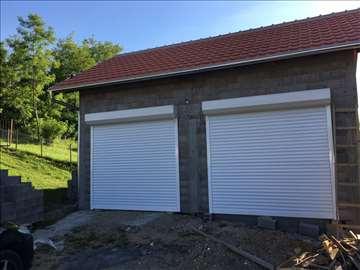 Aluminijumska rolo garazna vrata