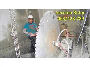 Sečenje - Bušenje betona