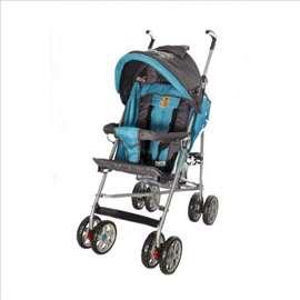 Dečija kišobran kolica u plavoj boji