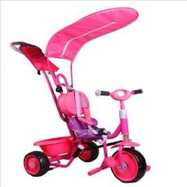 Dečiji tricikl u roze boji