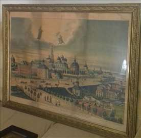 Moskva - Ruska unikat slika rad 1880. godine
